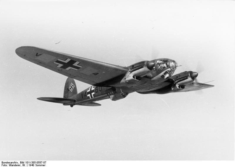 He-111H in flight