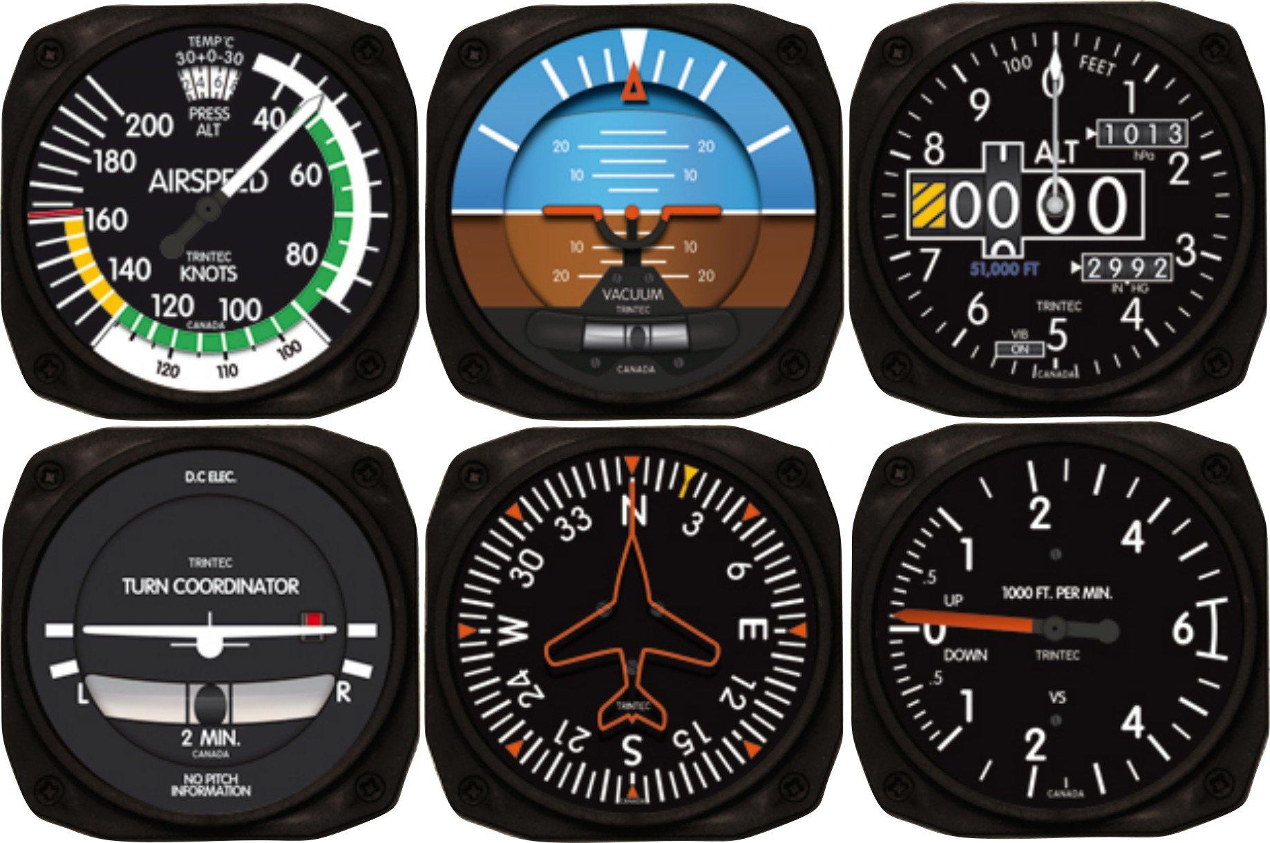 Standard aircraft instruments